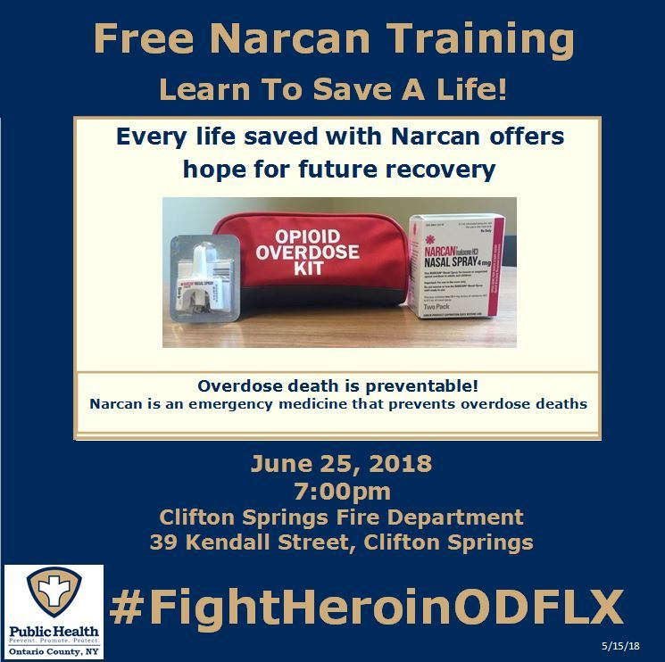 Clifton Springs Narcan TrainingJPG