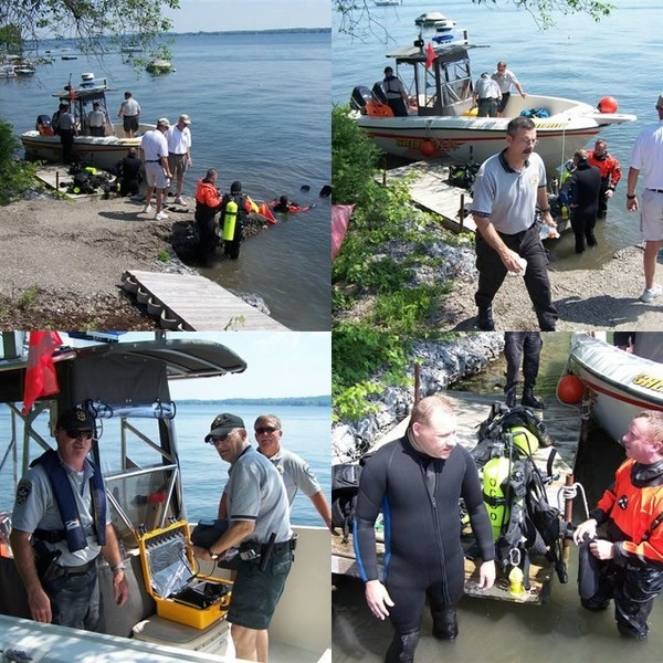 underwater search and recovery
