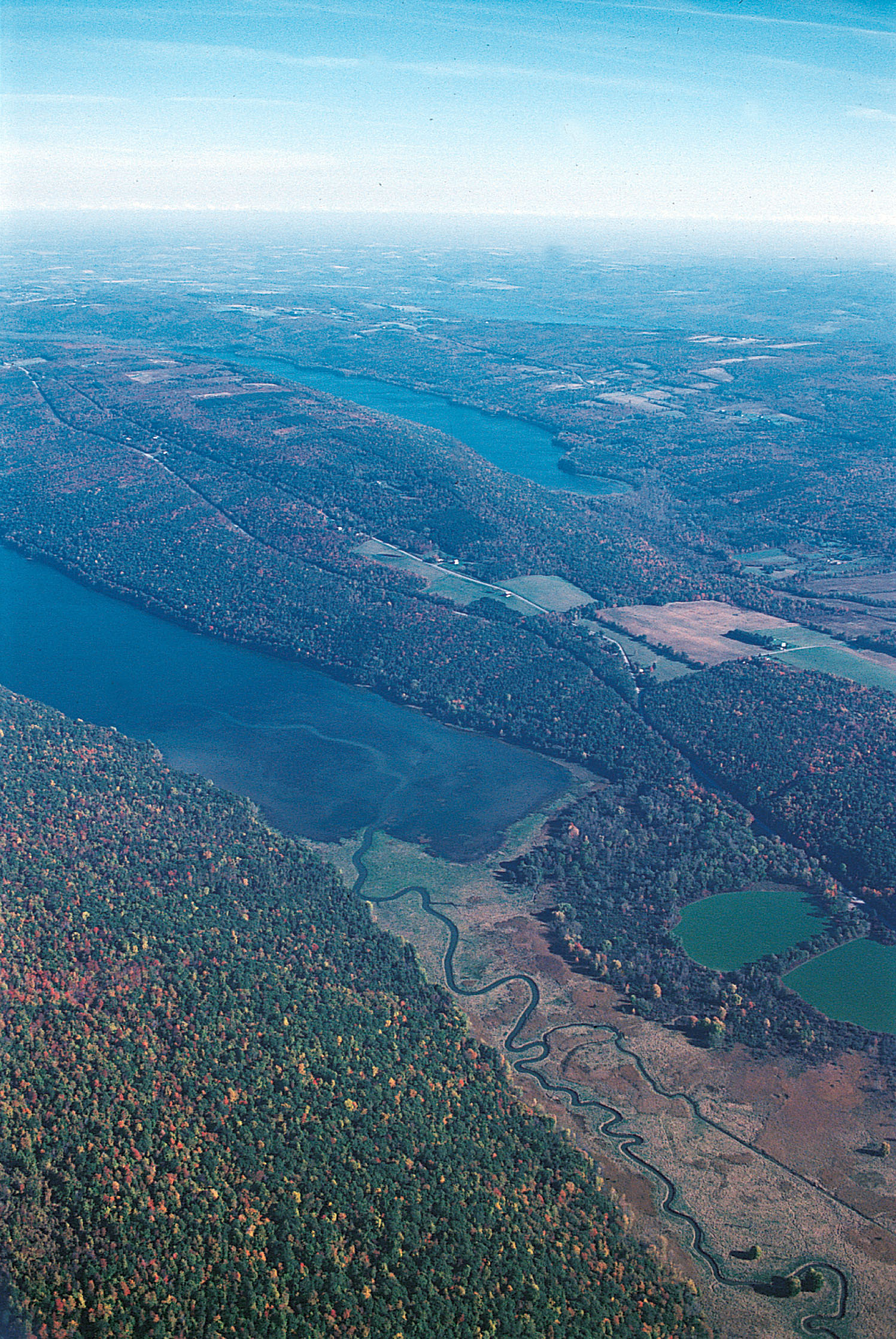 Finger Lakes - Aerial View